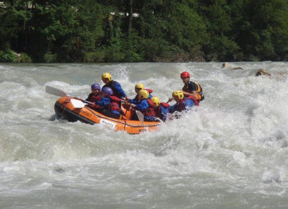 Descente de l'Arve en Rafting