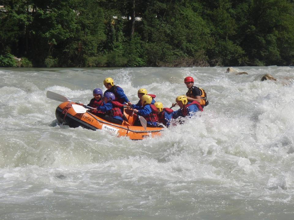 Plusieurs Guides de Rafting et Trip Leader sur appel