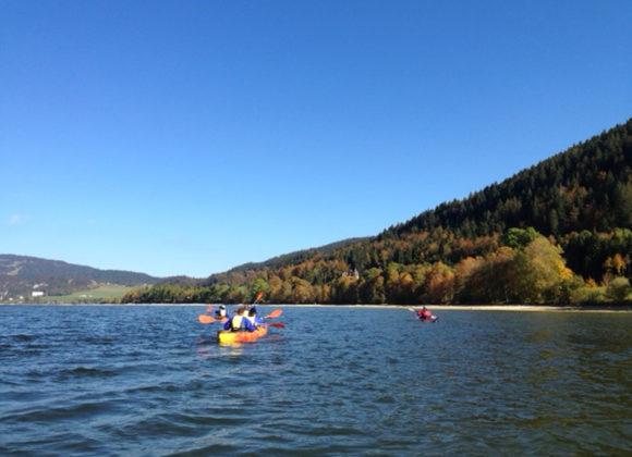 Randonnée Kayak sur le lac de Joux