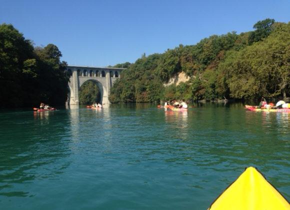 Descente du Rhône en Kayak d'Avril à fin Septembre