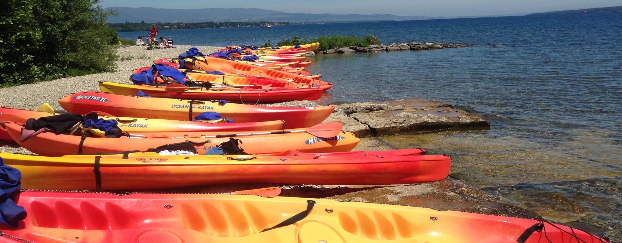 Location canoë et kayak au Vengeron