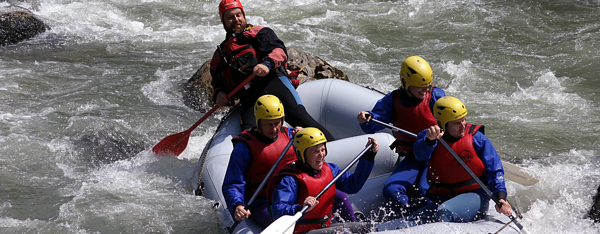 Descente de l'Arve en Rafting et Canoëraft