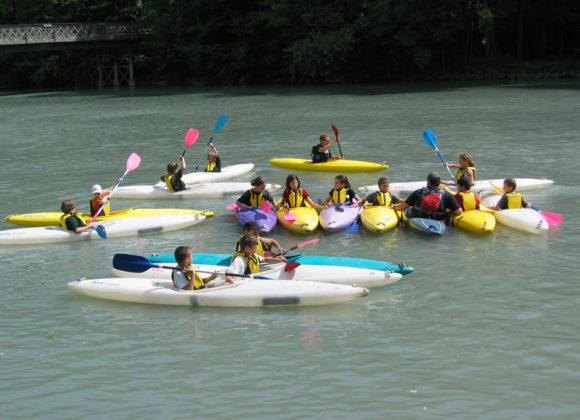 Cours Kayak Jeunes