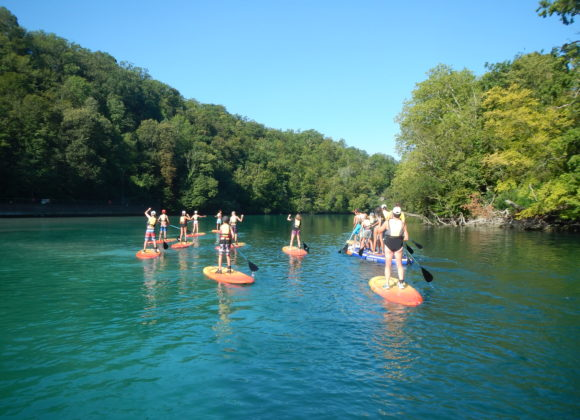 Locations canoë kayak ou Stand Up Paddle pour descente du Rhône