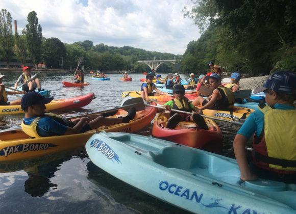 Cours Canoe Kayak Jeunes